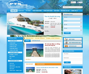 Xây dựng web du lịch Pys Travel