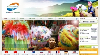 Xây dựng web du lịch Hapro Travel