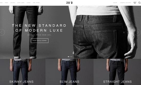 giao dien thiet ke web ban hang jeans-design